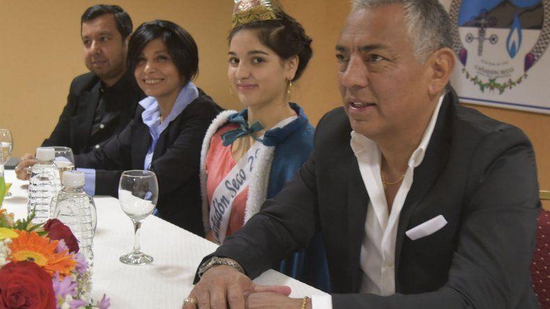 En un acto celebrado en el Centro Cultural de Cañadón Seco, Soloaga inauguró el ciclo institucional 2019 de esa comisión de fomento.
