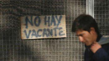 aumento la desocupacion: hay mas de 417 mil desempleados nuevos
