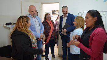 El ministro de Salud estuvo relevando necesidades sanitarias en Comodoro Rivadavia.