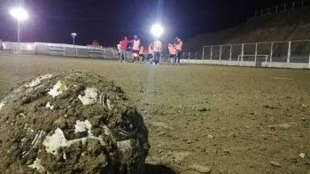 el futbol local quedo suspendido por las lluvias