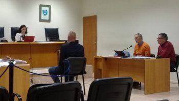 El exgobernador Martín Buzzi fue uno de los testigos del primer día del juicio.
