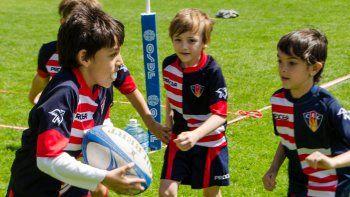 El rugby menor busca crecer año tras año en Comodoro RC.