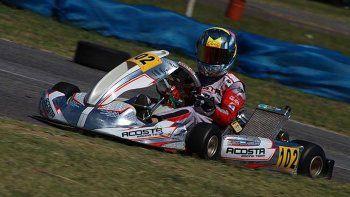 Ignacio Montenegro fue protagonista y arrancó con un podio, aunque estaba para ganar las dos finales.