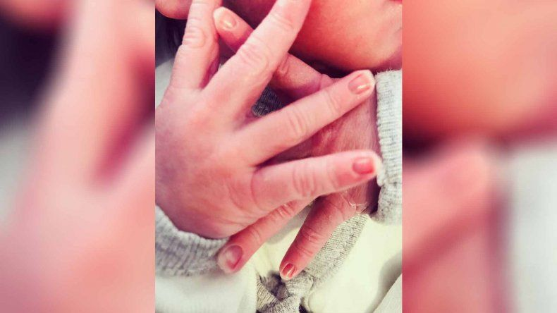 Nació el hijo de Morena Rial