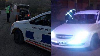 Control de vehículos e identificación de personas en Comodoro y Rada Tilly