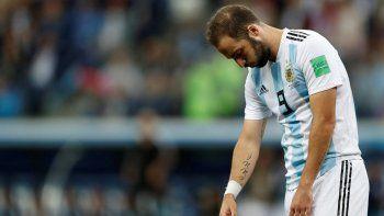Higuaín se retiró de la Selección para alegría de muchos