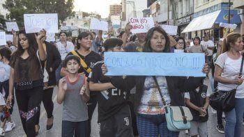 La manifestación de habitantes de la Fracción XIV y Los Bretes.