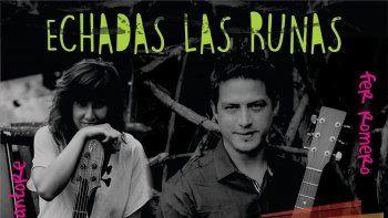 Echadas las runas presenta  hoy su música en Rada Tilly