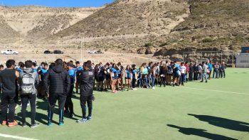 Plantaron 44 árboles en homenaje a los tripulantes del ARA San Juan