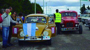 Los Autos Clásicos tuvieron el domingo una entretenida competencia entre Chubut y Santa Cruz.