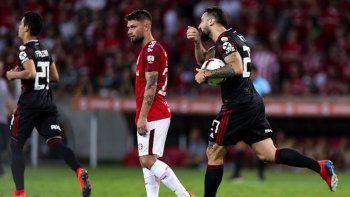 River reaccionó y se trajo un punto valioso de Brasil