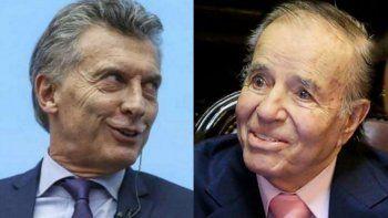 En un comunicado oficial de Presidencia confundieron a Macri con Menem