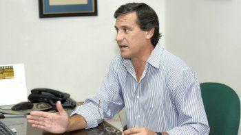 Guillermo Ceriani, presidente de la Cámara de Comercio, Industria y Producción de Comodoro Rivadavia.
