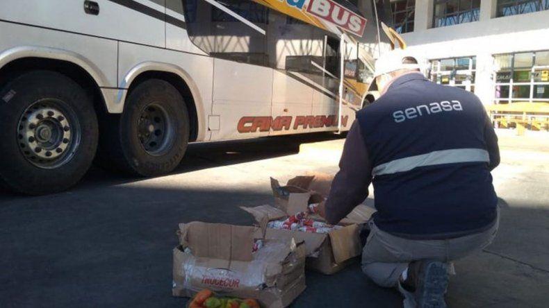 Decomisaron 90 kilos de salamines que iban de Córdoba a San Martín de los Andes