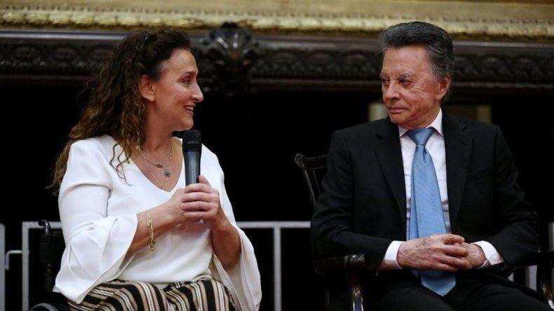 El extraño y confuso homenaje de Michetti a Palito Ortega