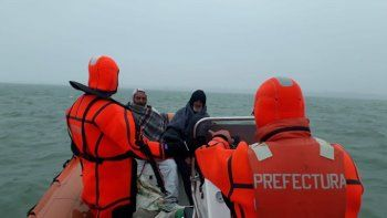 Pescadores quedaron atrapados en una isla tras un temporal