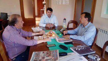 El encuentro que Linares mantuvo con Burgoa y Mac Karthy en la casa de este último.