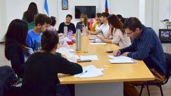 personal del concejo deliberante se  capacita en redaccion administrativa