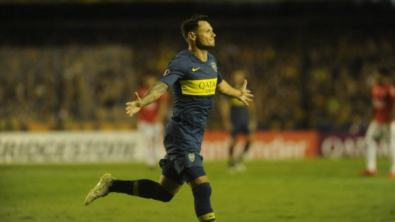 Boca goleó a Jorge Wilstermann y se acomodó en su grupo
