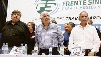 el sindicalismo opositor anuncio un paro para el 30 abril