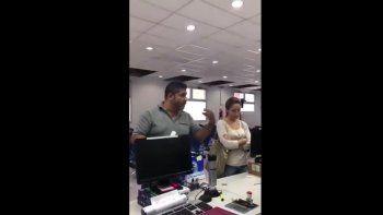Se negó a ser testigo de un operativo policial en contra de un trabajador
