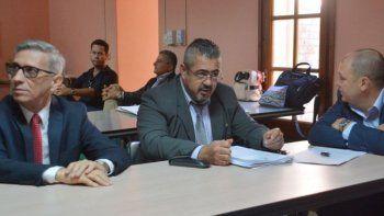 El juez Piñeda y los fiscales de la causa Revelación tuvieron que dar explicaciones ayer ante el Consejo de la Magistratura.