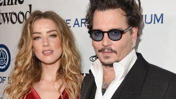 La ex de Johnny Depp denunció que el actor le tiró una garrafa