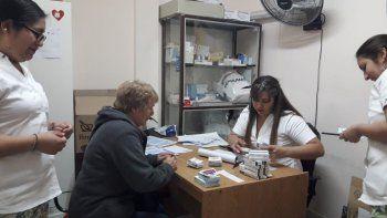 el programa medicamentos solidarios entrego  mas de 300 tratamientos en el barrio san martin