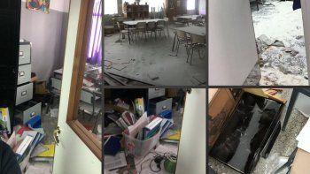 El Gobierno denunció actos de vandalismo contra edificios oficiales