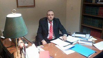 Foto: juez Jorge Novarino.