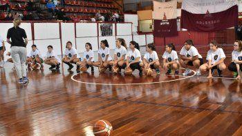 El campus femenino de la CABB se realizó con éxito en Comodoro Rivadavia.