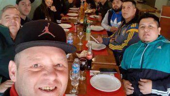 El Pepo fue a cenar a un restaurante céntrico de Comodoro