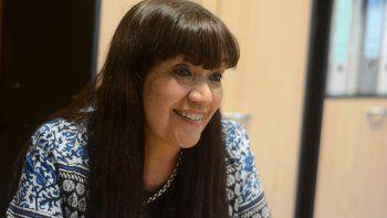 Graciela Cigudosa, ministra de Educación de Chubut.