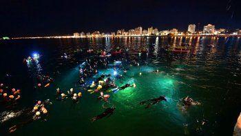madryn celebra la xvi edicion del via crucis submarino