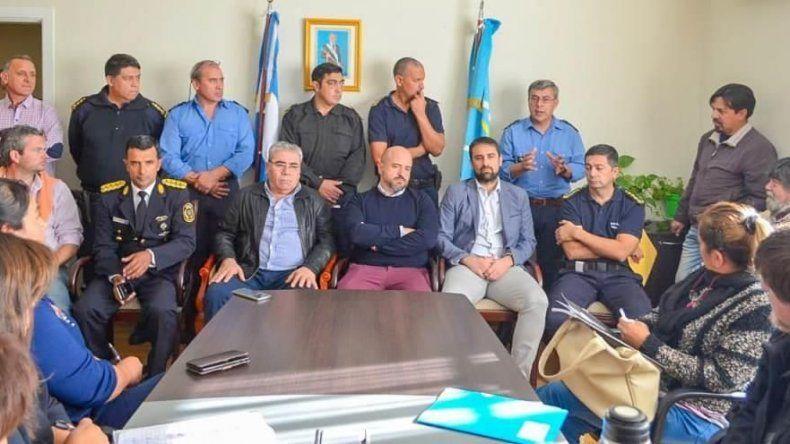 La reunión se realizó en la residencia del gobernador.