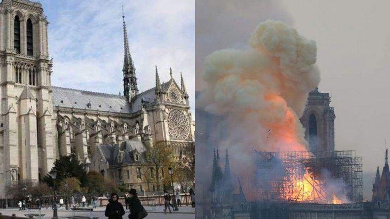 Notre Dame: las cenizas de lo que fue uno de los  principales atractivos turísticos franceses