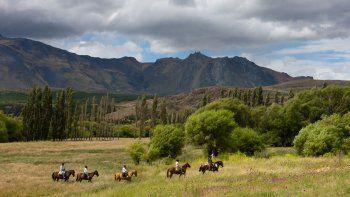 Cabalgatas de corto y largo tramo en Esquel