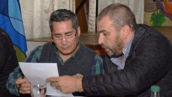 El presidente del Centro de Residentes Riojanos, Carlos Carpio, agradeció el aporte económico para la institución otorgada por el municipio.