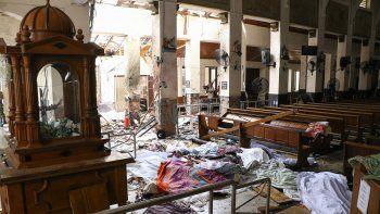atentados simultaneos dejan 207 muertos en sri lanka