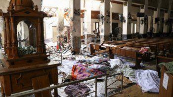 ascienden a 290 los muertos por los atentados en sri lanka