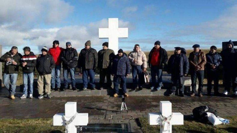 Excombatientes viajaron a Malvinas para cerrar una herida