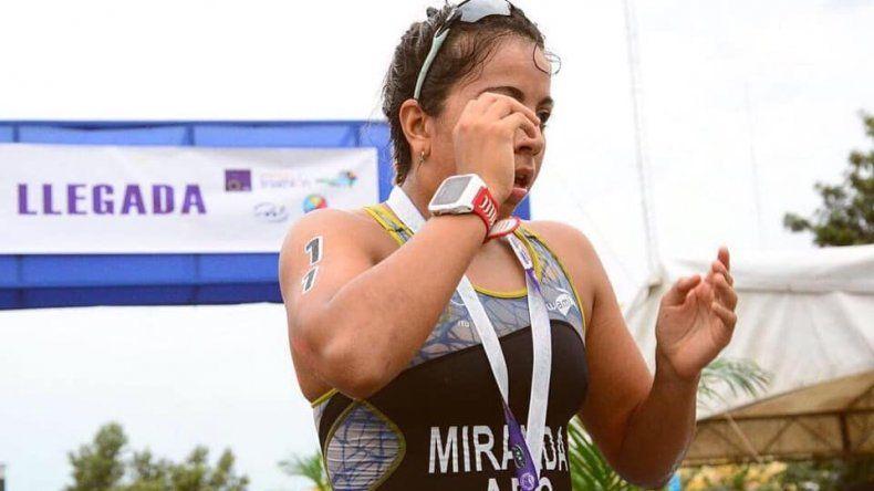 Moira Miranda brilló el último fin de semana en Formosa y ya le viene un nuevo desafío en Ecuador.