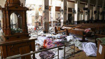 isis asumio la autoria de los atentados en sri lanka