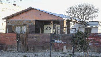 La vivienda que cuidaba el joven de nacionalidad chilena que fue asesinado ayer a la madrugada. En abril ya se produjeron cinco crímenes.