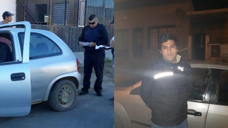 Tras persecución policial detuvieron a un integrante de la familia Palomo