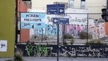 moreno ya es candidato a presidente en comodoro
