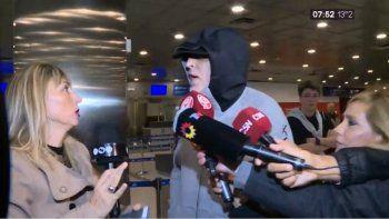 Di Zeo deportado: saltó un alerta roja como si fuera un terrorista