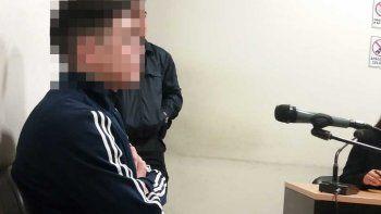 prision preventiva para el hombre que ataco a su pareja con un arma