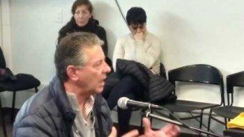 Carlos Thomas, esposo de Sandra Méndez, declaró ayer en el juicio.