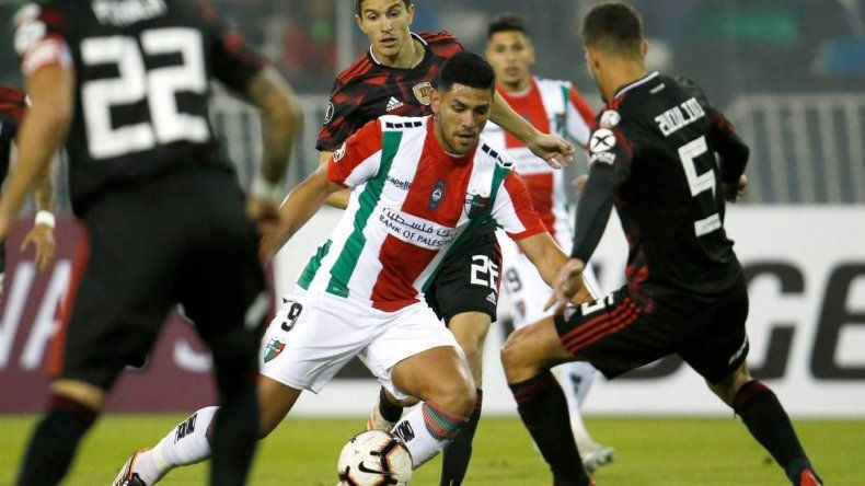 River venció a Palestino y se clasificó a los octavos de final